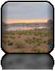 Wschód słońca nad jeziorem Powell