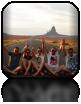 W drodze do Monument Valley