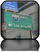 i z powrotem do centrum L.A.