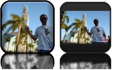Wojtek i Crystal Cathedral