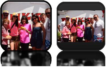 Z właścicielkami Pink's Hot Dogs - najpopularniejsze hot dogi w Los Angeles