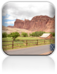 Wjazd do Capitol Reef