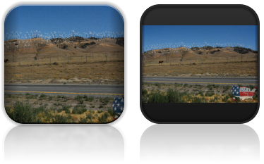 Elektrownie wiatrowe w środkowej Kalifornii