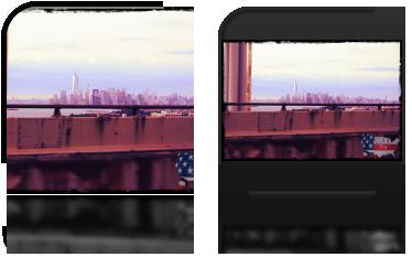 Manhattan, widok z mostu Verrazano-Narrows