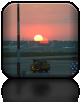 My już po śniadaniu, witamy kolejny dzień i chcemy się z Wami podzielić pięknym widokiem Słońca wyłaniającego się znad płyty rosyjskiego lotniska...