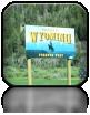 Kolejne na naszej drodze było Wyoming - stan misia Yogi