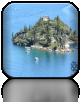 Fannette Island z bliska